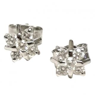Bespoke Diamond Snowflake Earrings