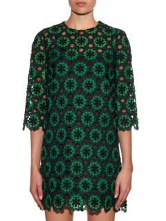 Dolce & Gabbana macram�-lace margherite dress