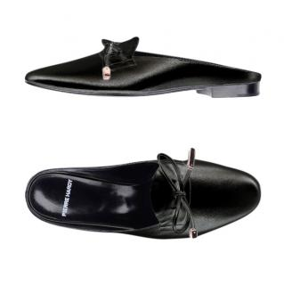 Pierre Hardy Black Bow Detail Mules