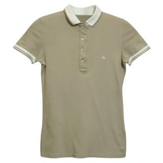 Fay Beige Polo Shirt