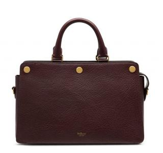 Mulberry Oxblood Grained Leather Chester Bag