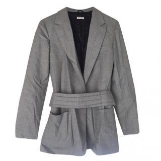 Miu Miu lightweight virgin wool jacket