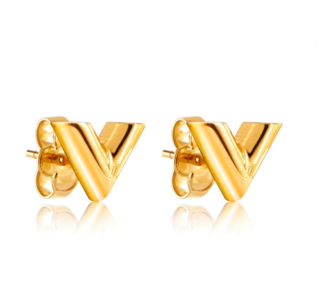 Louis Vuitton Essential V Stud Earrings