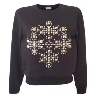 Saint Laurent Embellished Sweatshirt
