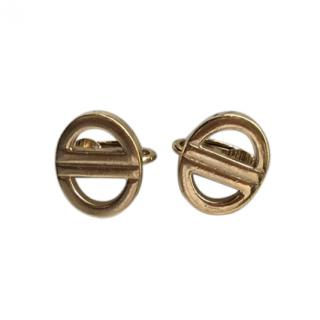 Christian Dior Vintage Logo Earrings