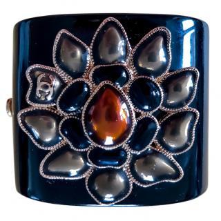 Chanel Camellia Enamel Cuff