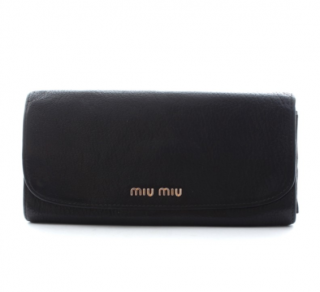 Miu Miu Rectangular Flap Wallet