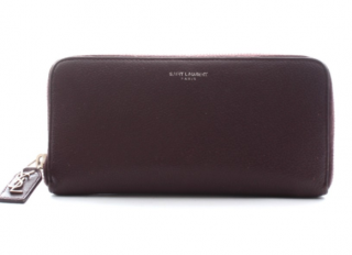 Saint Laurent Rive Gauche Zip Around Wallet