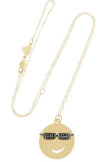 Alison Lou 14k Yellow Gold Large Joe Cool Necklace