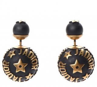 Dior Mise En Dior Black J�adior Earrings