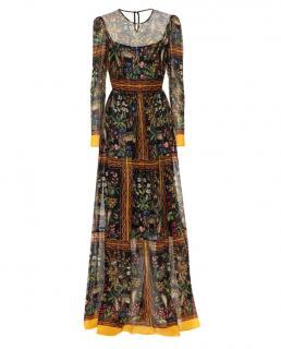Philosophy di Lorenzo Serafini printed chiffon maxi dress