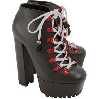 Gucci Lace-Up Kayla Boots
