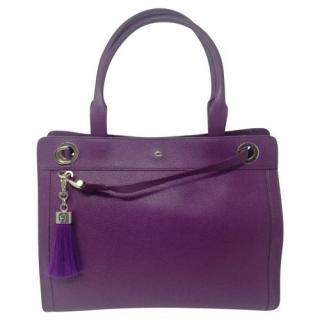 Aigner purple cavallina bag