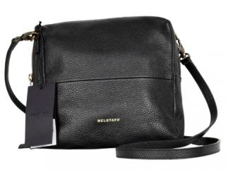 Belstaff grained leather sling bag