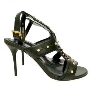 McQ by Alexander Mcqueen Studded Leather Sandals