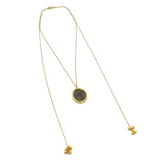 Bespoke 18k Yellow Gold Coin Double Chained Necklace