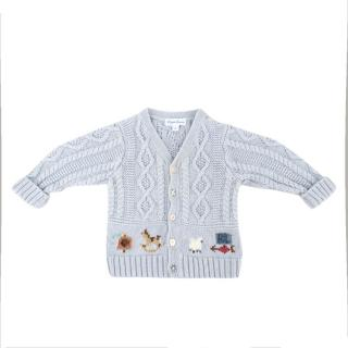 Ralph Lauren 9 Months Embroidered Knit Sweater