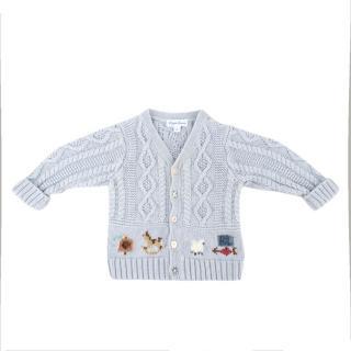 Ralph Lauren 9 Months Embroidered Knit Sweater