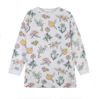 Stella McCartney Kids Grey Floral Sweatshirt