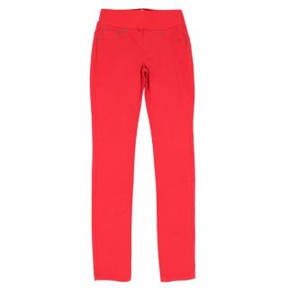 Seraphine Red Maternity Trousers