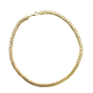 Bespoke 18K Gold Woven Necklace