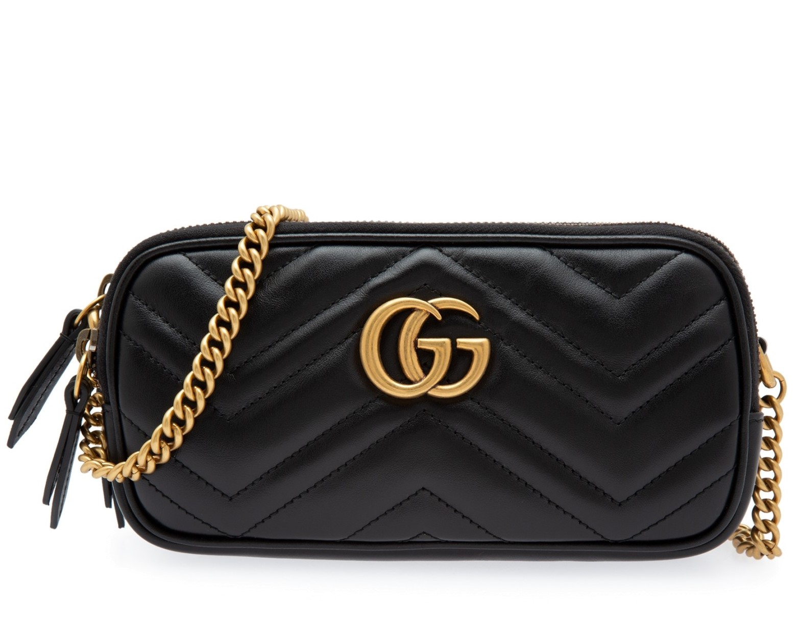 enjoy complimentary shipping cost charm provide large selection of Gucci GG Marmont mini chain bag