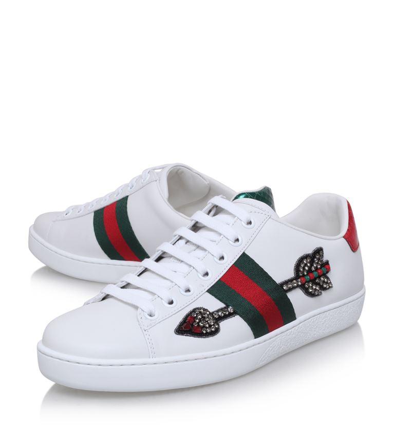 26663e91cc8 Gucci Arrow Ace Sneakers