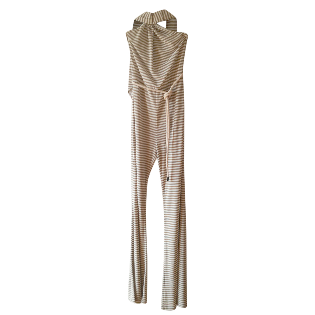 MaxMara Striped Halterneck Jumpsuit