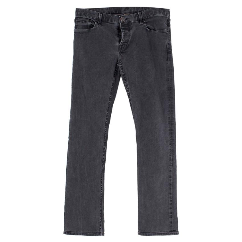 Burberry Men's Regular Fit Grey Jeans