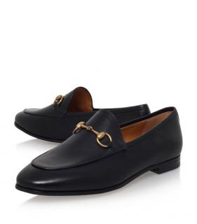 763a66fec34 Gucci Leather Jordaan Loafers