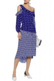 Sandro Kemila cold-shoulder dress