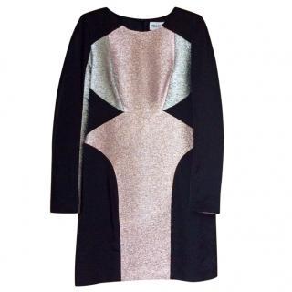 American Retro glitter embellished mini dress