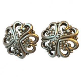 Oscar De La Renta Couture vintage earrings