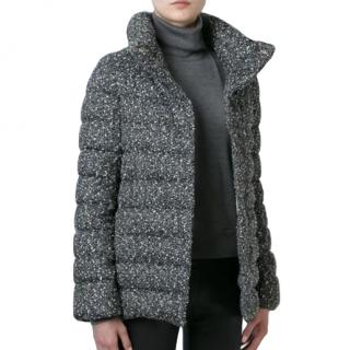 Herno Boucle Knit Down Coat