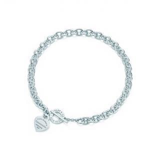 Tiffany & Co Return to Tiffany Heart Tag Toggle Necklace