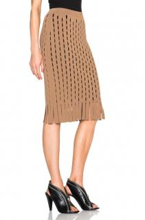 Alexander Wang Fringe Open Knit Skirt