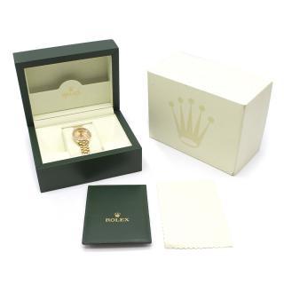 Rolex 18K Diamond Oyster Perpetual 28mm DateJust Watch