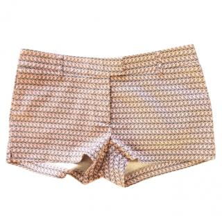 Paul & Joe Dolphin Print Stretch Mini Shorts