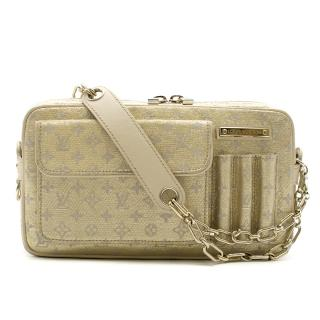 Louis Vuitton Small Gold Limited Edition Monogram Bag