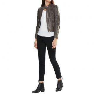Belstaff Mollison Black Leather Jacket