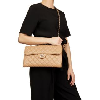 Chanel Lambskin Quilted Single Flap Bag