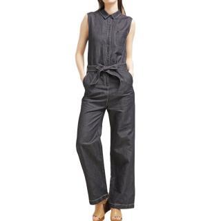 Max & Co Sleeveless Denim Jumpsuit