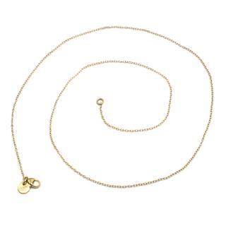 Bespoke 18k Yellow Gold 51cms Chain