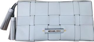 Michael Michael Kors White Leather Clutch Bag