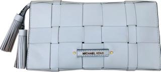 Michael Michael Kors White Leather Clutch Bag