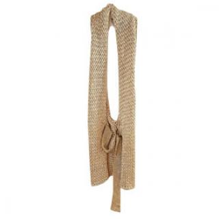 Trussardi chunky knit halterneck