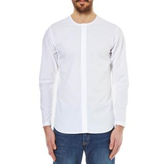 Folk Men's Collarless Shirt