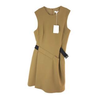 Nicole Farhi Sleeveless Belted Wrap Dress