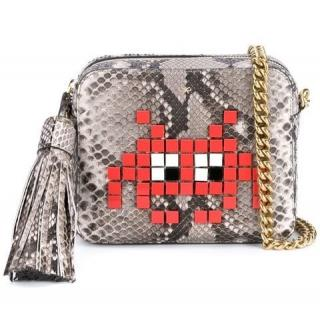 Anya Hindmarch Python Space Invaders Bag