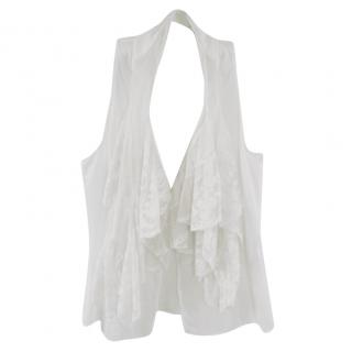 Ralph Luaren White Lace Blouse
